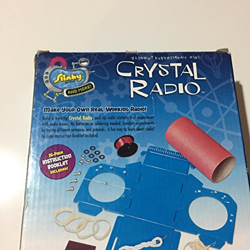 Learning & education poof slinky crystal radio kit toys & games.