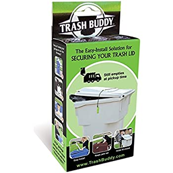 Dog Proof Trash Can Amazon