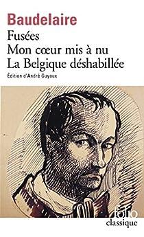 Fusées - Mon coeur mis à nu - La Belgique déshabillée - Amoenitates Belgicae par Baudelaire