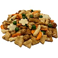 NUTS U.S. - Oriental Rice Crackers With Green Peas in Resealable Bag!!! (2 LBS)