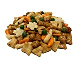 asian rice crackers - NUTS U.S. - Oriental Rice Crackers With Green Peas in Resealable Bag!!! (2 LBS)