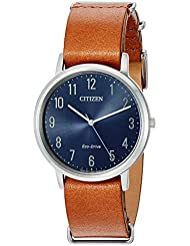 Citizen Mens Eco-Drive Stainless Steel Watch, BJ6500-12L