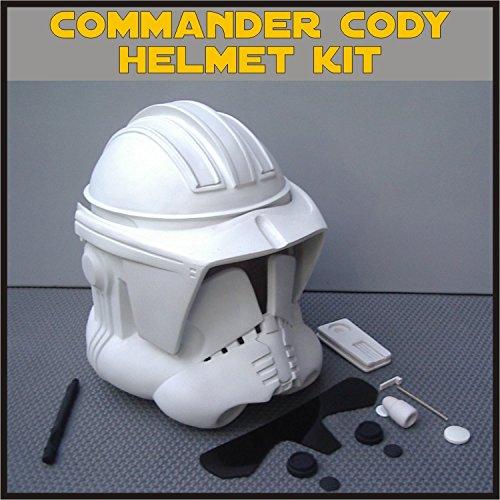 Clone Trooper Commander Cody Helmet Prop Kit for Star Wars Collectors