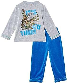 Pijama Largo Las Tortugas Ninja Multicolor 3 Años: Amazon.es ...