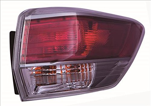 Multiple Manufacturers TO2804120C Partslink TO2804120 OE Replacement Tail Light Assembly TOYOTA HIGHLANDER 2014-2015