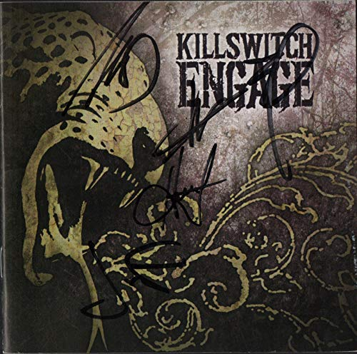 Killswitch Engage REAL hand SIGNED Self Titled CD #1 COA all 5 Howard Jones +4