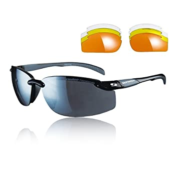 68eadcc1a093 Sunwise Pacific Interchangeable Sunglasses - Black  Amazon.co.uk ...