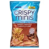 Quaker Crispy Minis Tortilla Style Smokey Chipotle Rice Chips, 100-Gram, 12 Count