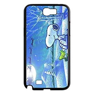 High quality cartoon snoopy series case cover For Samsung Galaxy Note 2 Case SB4566215