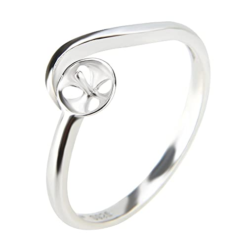 d4198779a0c Amazon.com: Girls 1 Piece 925 Sterling Silver Simple Design ...