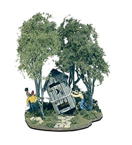 Woodland ScenicsWS 108 Ho Outhouse Mischief Mini-Scene