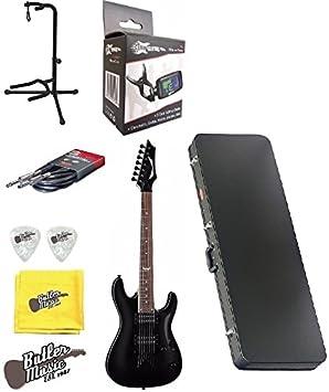 Dean Guitars Custom Classic negro 750 x (7 cuerdas Guitarra eléctrica w/duro caso + más: Amazon.es: Instrumentos musicales