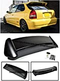 ek9 type r - For 96-00 Honda Civic EK9 3Dr Hatchback ABS Plastic Type R Style JDM Rear Roof Top Wing Spoiler Lip Splitter 1996 1997 1998 1999 2000 96 97 98 99 00 CTR EK9 Si Type-R
