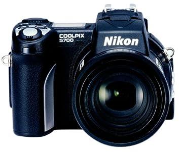 Amazon.com : Nikon Coolpix 5700 5MP Digital Camera w/ 8x Optical ...