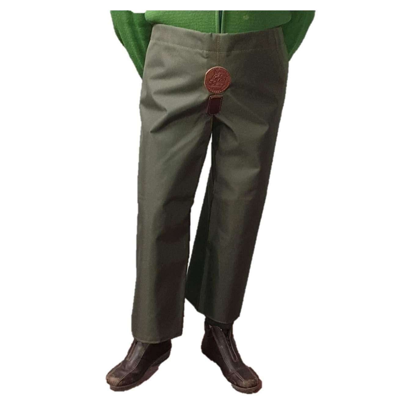 Talla XL CAZA Y AVENTURA Pernera Hombre Cordura Verde protecci/ón de la maleza