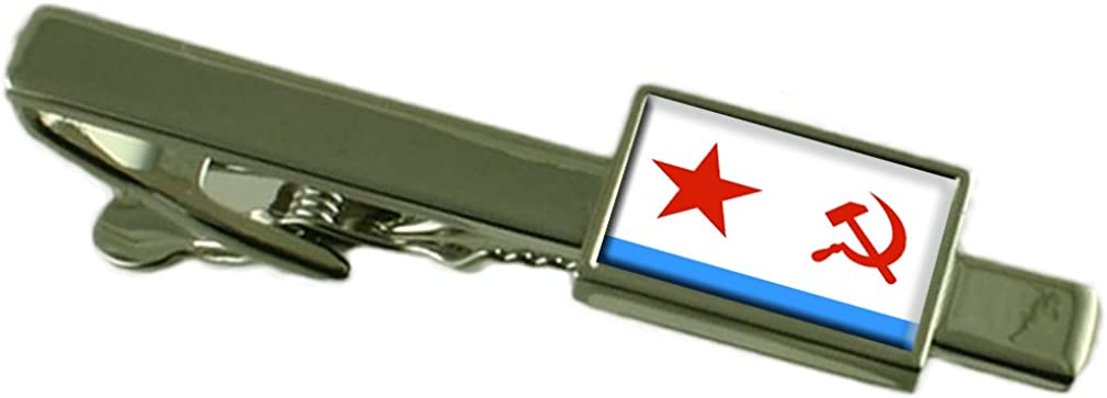 Select Gifts Soviet Navy Ensign Militairy USSR Flag Tie Clip
