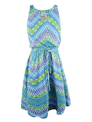 Zig Zag Printed Dress - 2