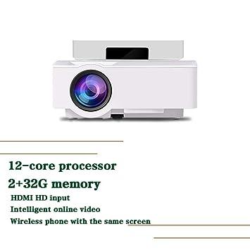 Proyector, con Bolsa De Transporte Compatible 1080p Fhd, 3800 ...