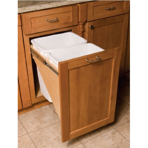 "Omega National Dual Waste & Recycle, 18"" Base Cabinet by National"