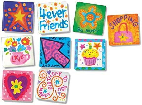 DIY Paint Arts & Crafts Magnet Kit for Kids
