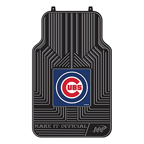 The Northwest Company MLB Chicago Cubs Licensed Front Floor Mats, One Size, Multicolor (Chicago Cubs Mlb Floor Mats)