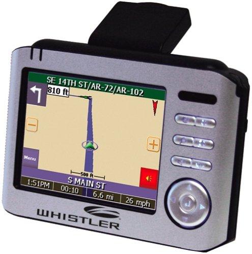 (Whistler WGPX-650 3.5-Inch Portable GPS Navigator)