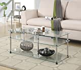 Convenience Concepts Designs2Go 3-Tier Coffee Table For Sale