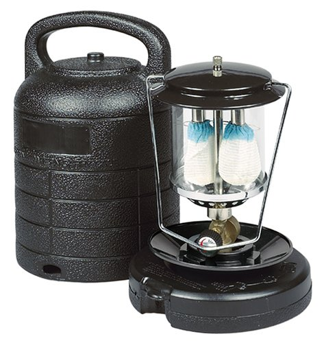 Century 7215 Portable Double Mantle Lantern with Case, Outdoor Stuffs
