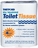 Camping Toilets Thetford 20804 RV/Marine Toilet Tissue, Single Ply