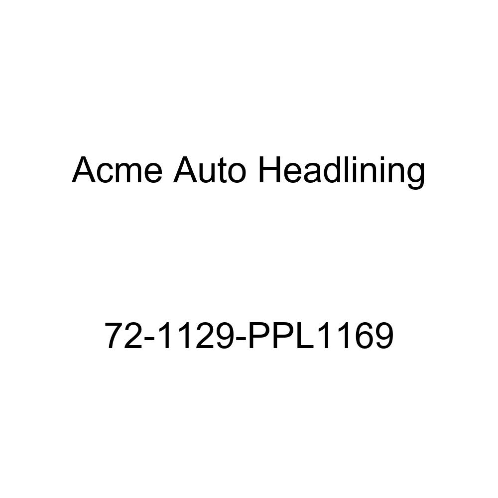 1972 Buick Sportwagon 4 Door Wagon Acme Auto Headlining 72-1129-PPL1169 Blue Replacement Headliner