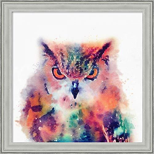 Canvas Art Framed 'The Wise II' by Jacqueline Maldonado ()