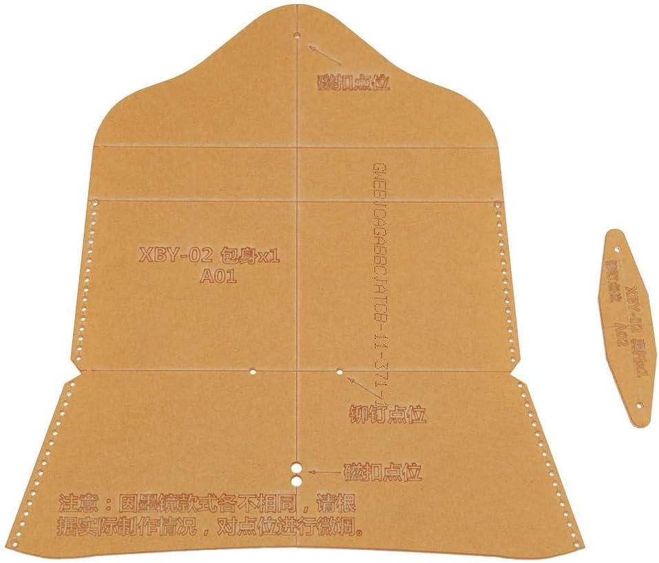 Transparentes Acryl-Schablonen-Muster-Schablonen-Machthaber für lederne