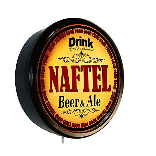 NAFTEL Beer and Ale Cerveza Lighted Wall Sign