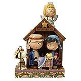 Jim Shore Peanuts Christmas Pageant Figurine Sculpture