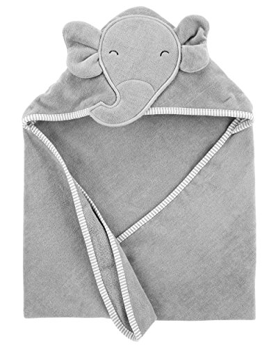 Elephant Infant Towels - Carter's Baby Elephant Hooded Towel