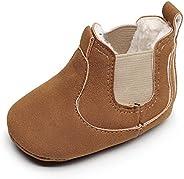 HONGTEYA Baby Booties Winter Infant Newborn Boys Girls Boots Toddler Moccasin Shoes