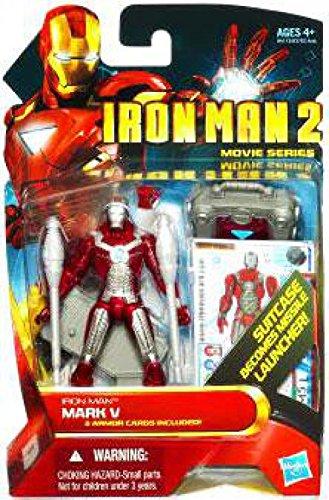 Marvel Iron Man 2 Movie Figure Iron Man Mark V #11 (Iron Man 2 Toys)