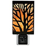 Himalayan Glow 1811 Natural Salt lamp,Tree Design Night Light, Wall Plug in, 360 Rotatable by WBM