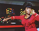 Nichelle Nichols Signed / Autographed Star Trek 8x10 Glossy Photo as Lt. Nyota Uhura. Includes Fanexpo Fanexpo Certificate of Authenticity and Proof. Entertainment Autograph Original.