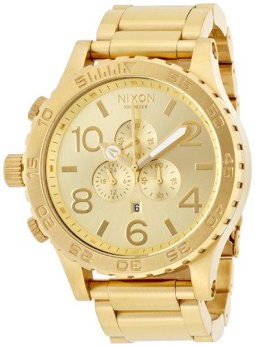 [ニクソン]NIXON 51-30 CHRONO: ALL GOLD NA083502-00 メンズ