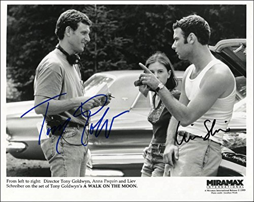 A Walk On The Moon Movie Cast - Printed Photograph Signed In Ink with co-signers ()