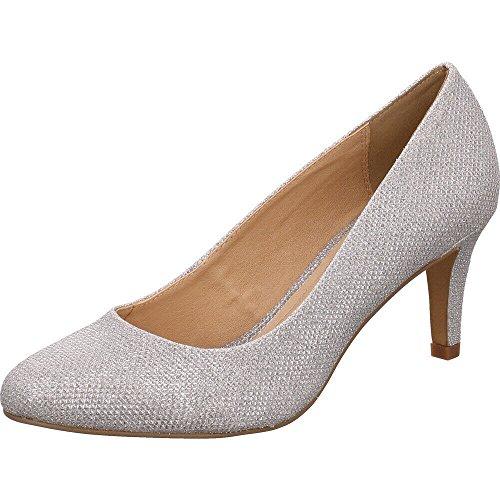 Buffalo Women's C404a-1 Court Shoes metal DsTRVVGy