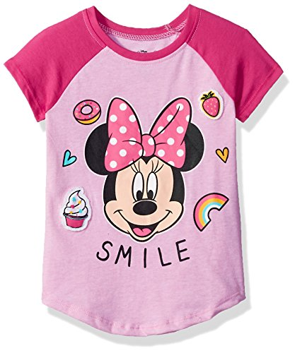 Minnie-Mouse-Toddler-Girls-Smile-Short-Sleeve-T-Shirt