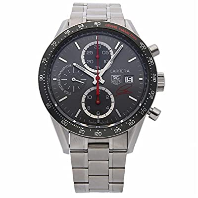 Tag Heuer Carrera Automatic-self-Wind Male Watch CV201M.BA0794 (Certified Pre-Owned) by Tag Heuer