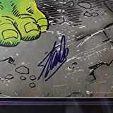 Stan Lee Autographed Signed Incredible Hulk Large