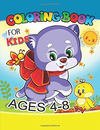 Coloring Book for Kids Ages 4-8: Cute dog, horse,lion,sheep,turtle and more.. for Kids, Girls Ages 8-12,4-8 (coloring books for kids ages 4-8) (Volume 2) pdf
