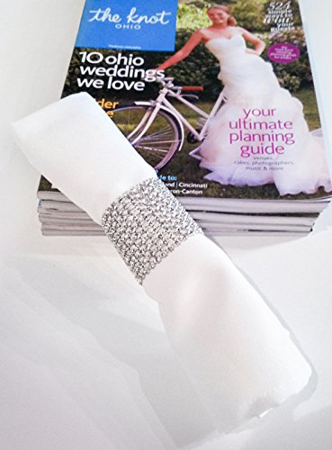 Strass bande 9 m de long pour de belles d/écorations Strassborte Dekoband Glitter Ribbon Wedding Party D/écoration strass en couleur or par la marque PRECORN