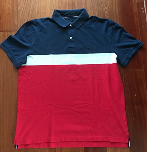 Tommy Hilfiger Men's Polo, Herren Poloshirt, Signature Polo, Size: X-Large