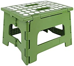 Kikkerland Rhino II Step Stool, Green