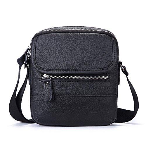 lqt, hombre bolsa de hombro negro (schwarz 1)